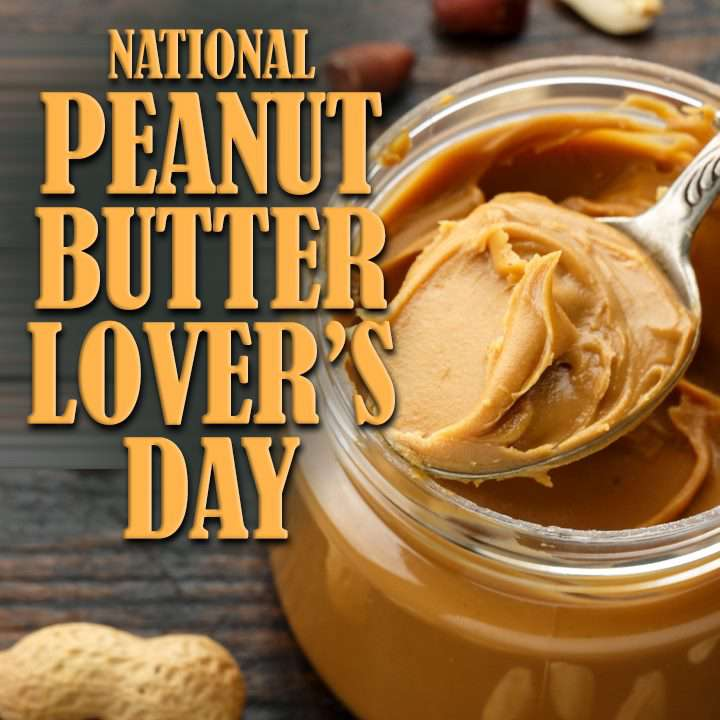 National Peanut Butter Lover's Day Wishes Unique Image