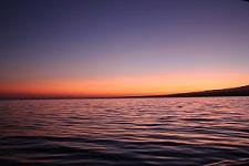 belle foto di mare al tramonto