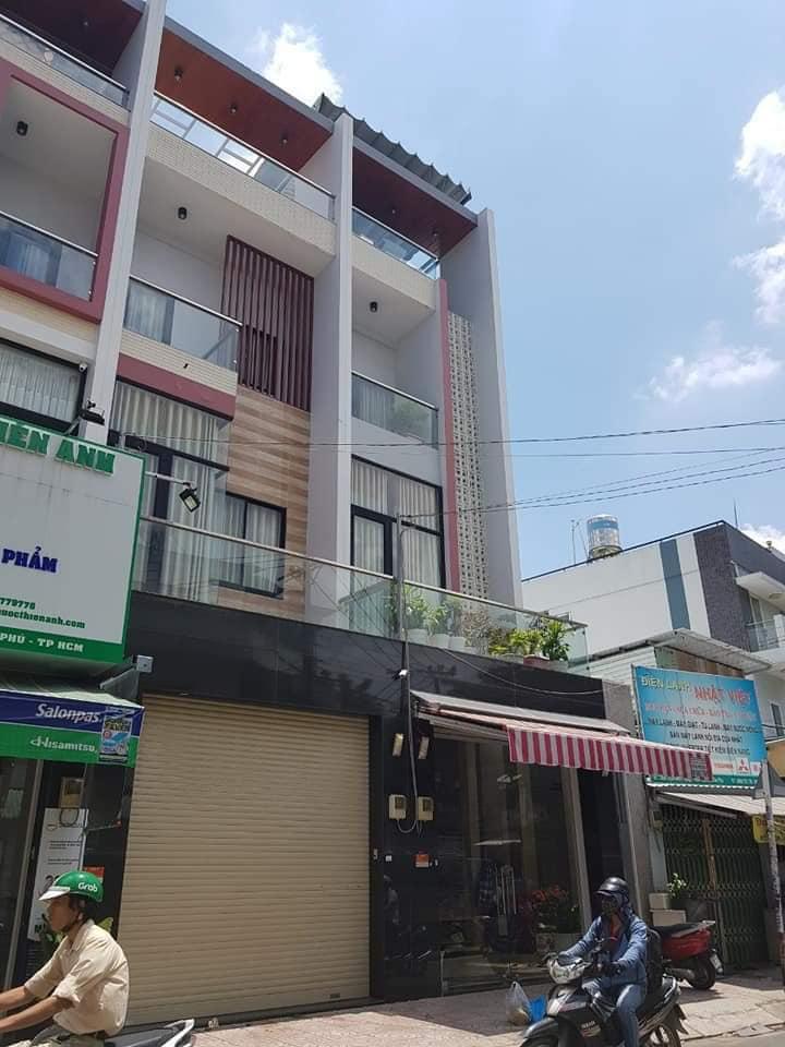 Bán nhà Mặt tiền đường Trịnh Đình Trọng phường Hòa Thạnh quận Tân Phú. DT 4x17m