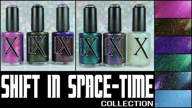 Baroness X Shift in Space-Time Collection