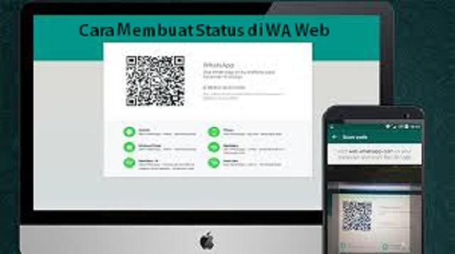 Cara Membuat Status di WA Web