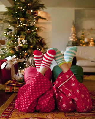 foto tumblr de amigas en navidad