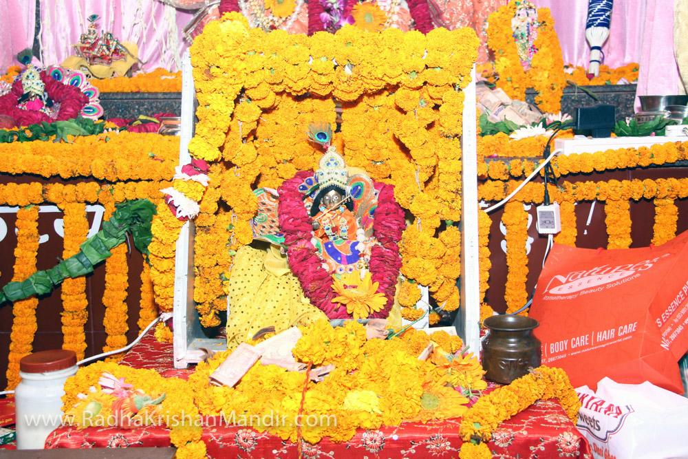 hare krishna temple janmashtami