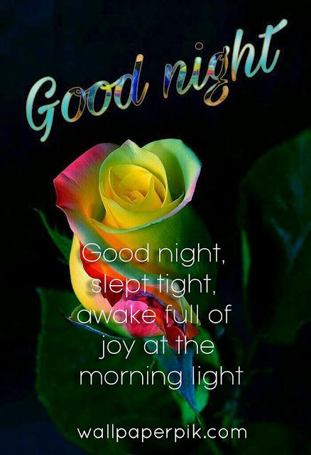 good night whatsapp message image
