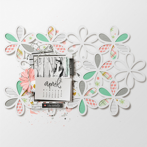 Digital Scrapbook Page by Isa