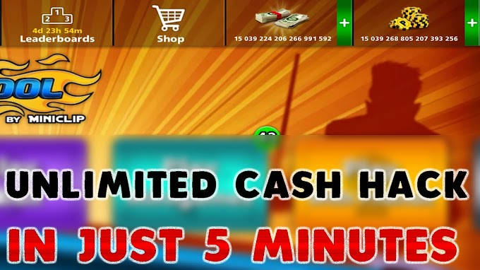 Download 8 Ball Pool Unlimited Cash (Mega MOD, Extended Stick Guideline) 4.5.2 by Qaiser Lodhi