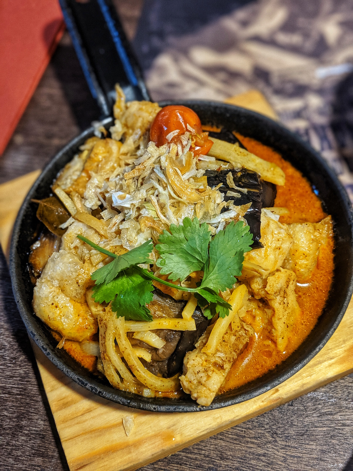 Banana Tree Vegan Tofu Laksa Review