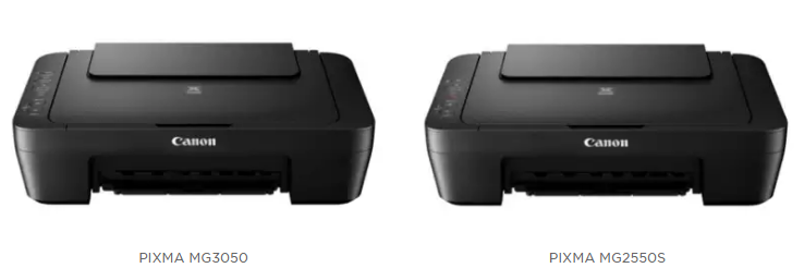 Canon announces two new PIXMA printers: PIXMA MG3050 and PIXMA MG2550S