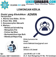 Walk In Interview di Delapan Inti Asta Surabaya Terbaru Nopember 2019