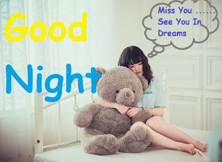 good night cute pic