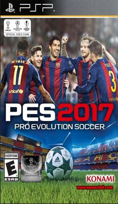 ROMs - Pro Evolution Soccer 2017  - PSP Download