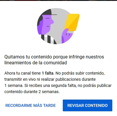 Problemas con e-mail y youtube