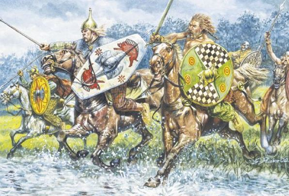Cimbri Germanic Cavalry
