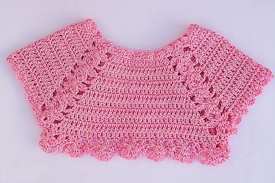 2 - Crochet Imagen Lindo bolero a crochet y ganchillo muy fácil y sencillo por Majovel Crochet.