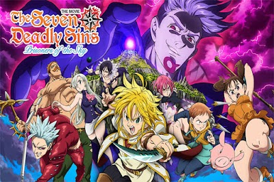 Nanatsu no Taizai Movie: Tenkuu no Torawarebito BD Subtitle Indonesia