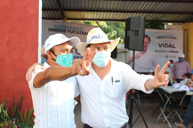 Liborio Vidal experiencia política y empresarial
