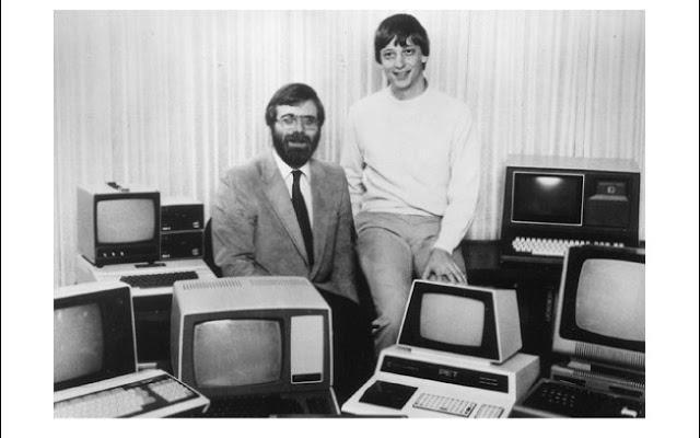 Bill Gates e Paul Allen - Divagações sobre motivação Bill Gates e Paul Alle