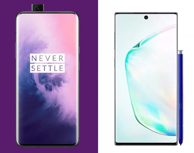Galaxy Note 10+ vs OnePlus 7 Pro: the fight of the giants!