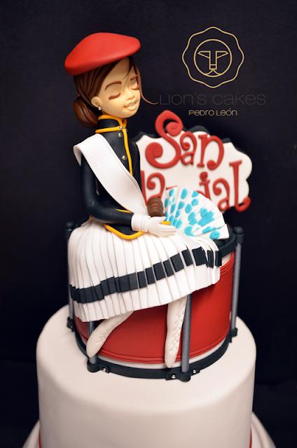 Tarta Cantinera de San Marcial ; Pedro León de Lion's Cakes