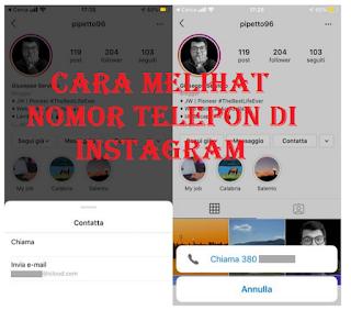 Cara melihat nomor telepon di Instagram ternyata mudah