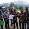 Pemkot Sungai Penuh Serahkan Bantuan Pembangunan Lapangan Bola & Masjid Desa Debai.  S