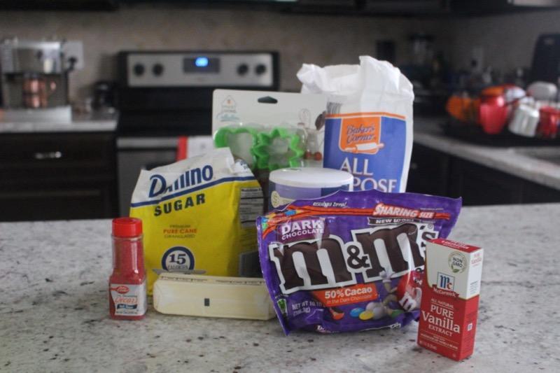 M&M Sugar Cookies