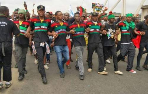Delta State Police Command Arrest IPOB Members, Recover 13 Stolen AK-47 Rifles