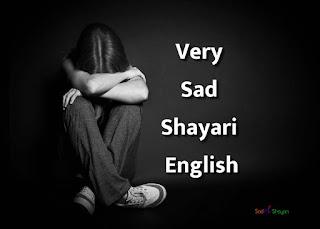 Top Sad Shayari English 2020 - SadPicShayari