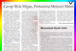 Working on the Oil and Gas Block, Pertamina is Looking for Partners