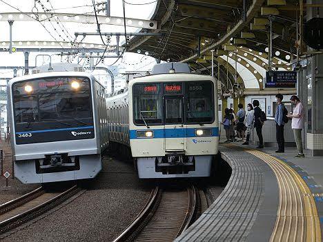 【ダイヤ改正で消滅も復活!】8000形の各駅停車 相武台前行き