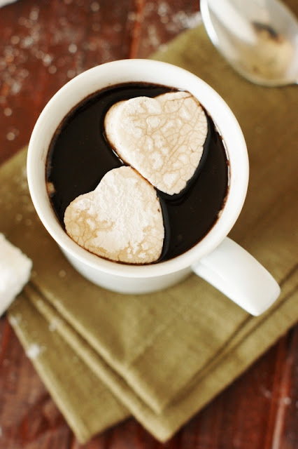 Heart Shaped Homemade Marshmallows Image