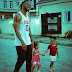 Singer Flavour Hangs Out With His Adorable Daughters