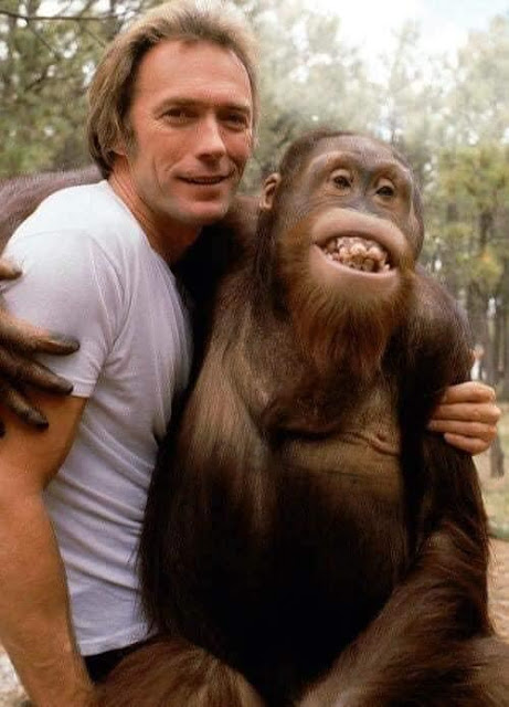 A Rare Picture of Clint Eastwood and Donald Trump