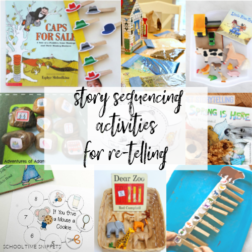 STORY SEQUENCING ACTIVITIES FOR RE-TELLING