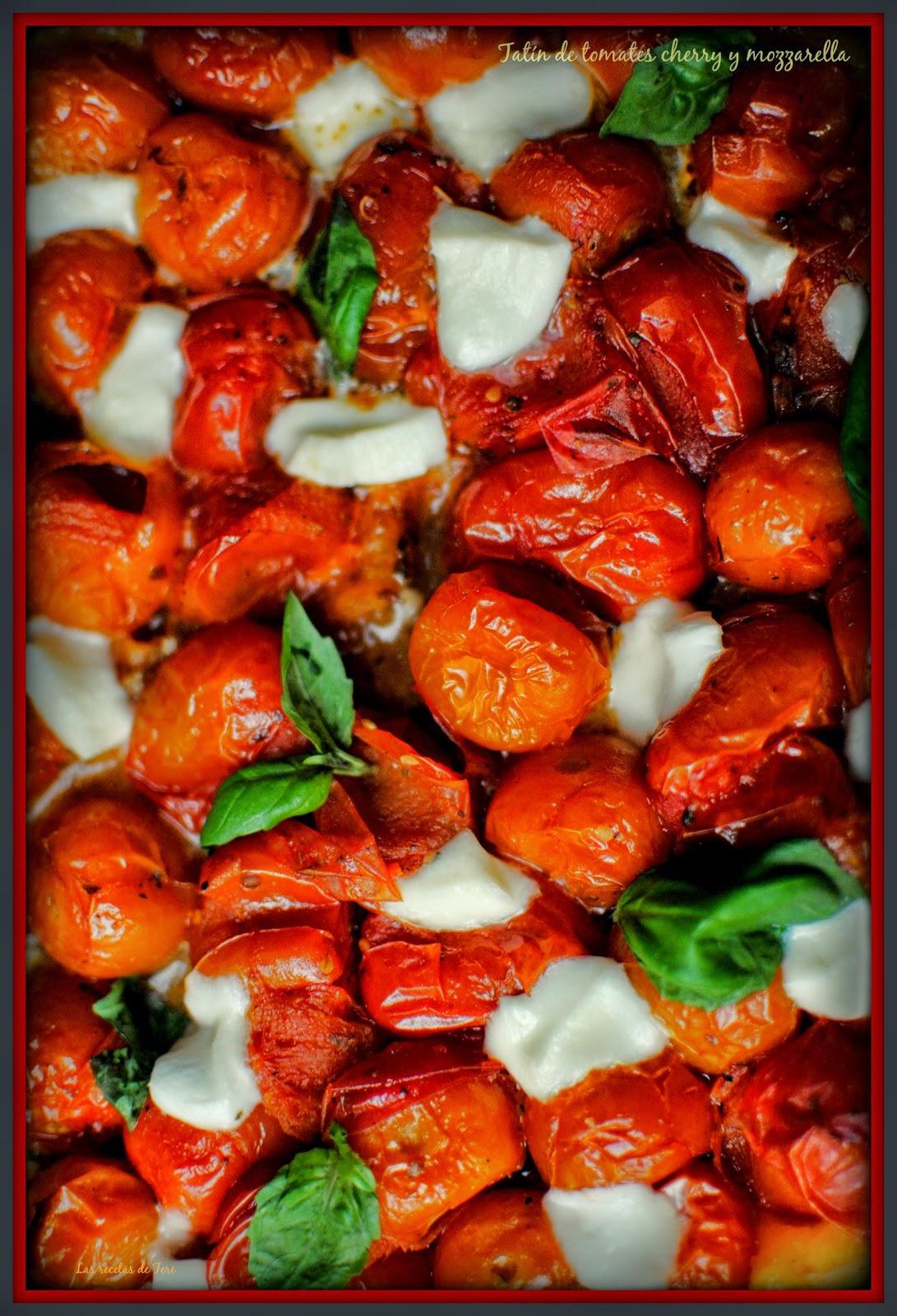 tatín de tomates cherry y mozzarella tererecetas 02