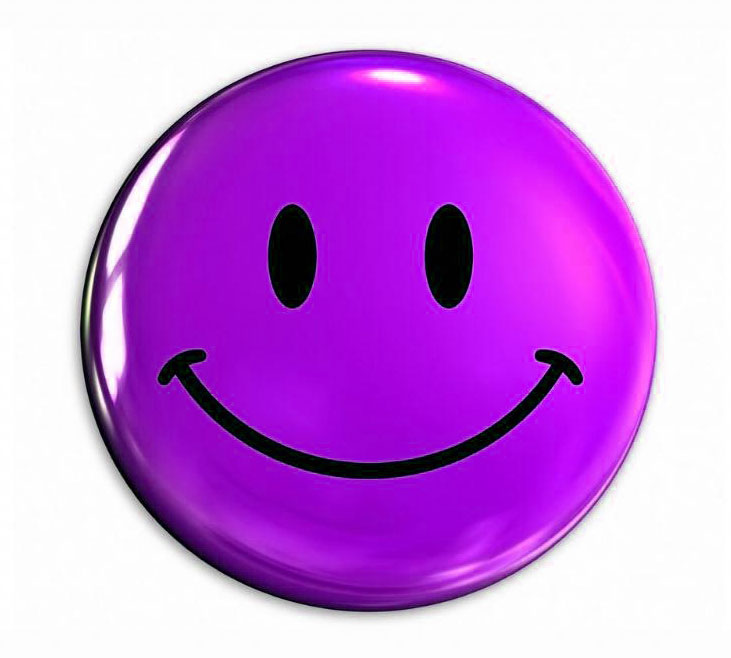 10 Smiley Buttons in Various Colors | Smiley Symbol