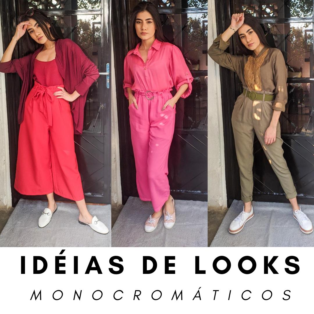 Idéais de looks monocromáticos