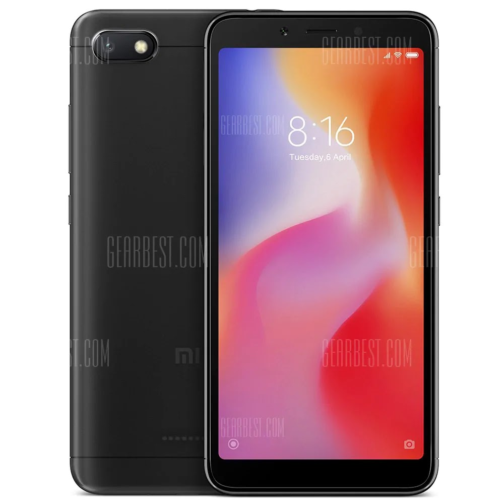Xiaomi Redmi 6A 4G Smartphone Global Version 16GB Coupon