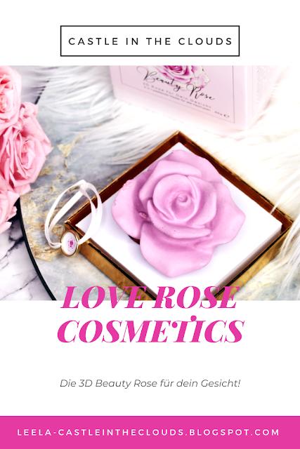 Glow your skin - 3D Rose für dein Gesicht Pinterest