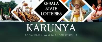 Kerala lottery result: Karunya