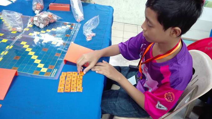 Anak saya pertama kali main G-Math
