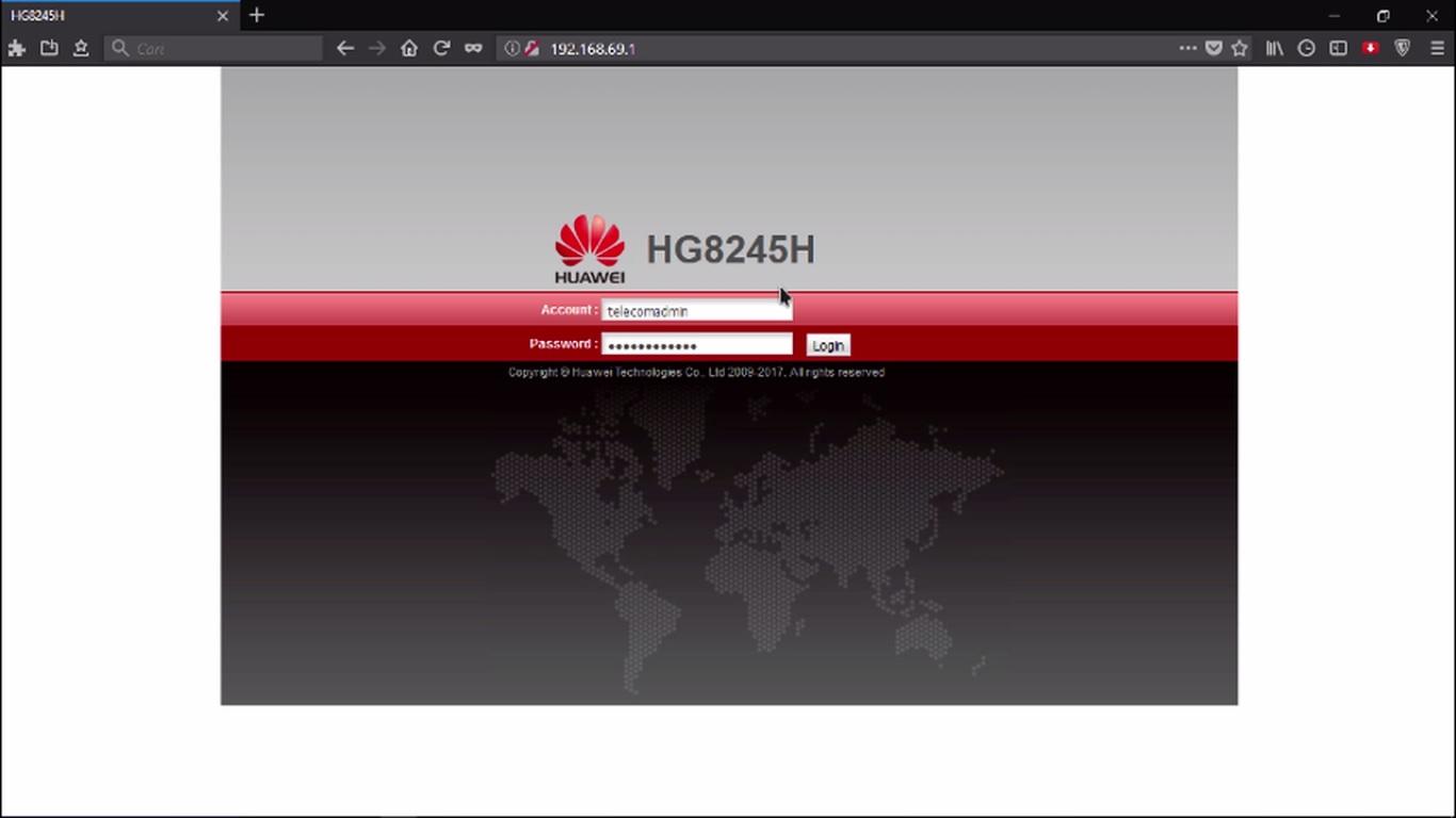 Konfigurasi AP Huawei HG8245H Speedy ~ HuntMikroTik
