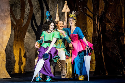 Rossini: La cenerentola - Holly Brown, Natalie Davies, Jerome Knox - British Youth Opera (Photo Robert Workman)