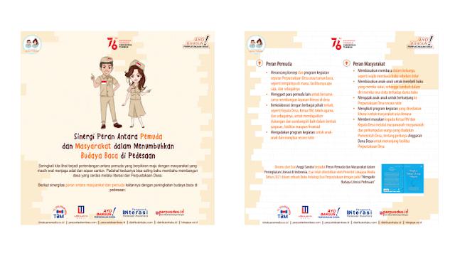 Sinergi Peran Antara Pemuda dan Masyarakat dalam Menumbuhkan Budaya Baca di Pedesaan