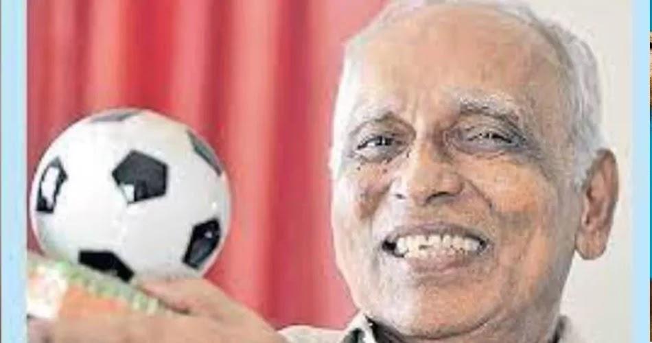 Former Indian football captain Olympian Chandrasekharan
