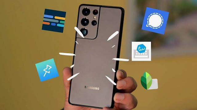 Aplikasi Terbaik untuk Samsung Galaxy S21 dan Galaxy S21 Plus