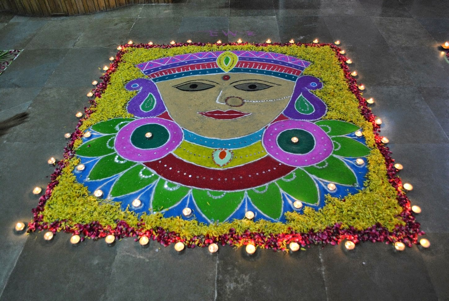 Rangoli Diwali Collection 21
