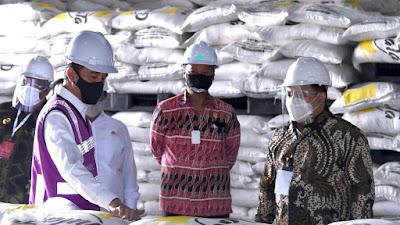 Presiden Jokowi Resmikan Pabrik Gula di Bombana, Sulteng
