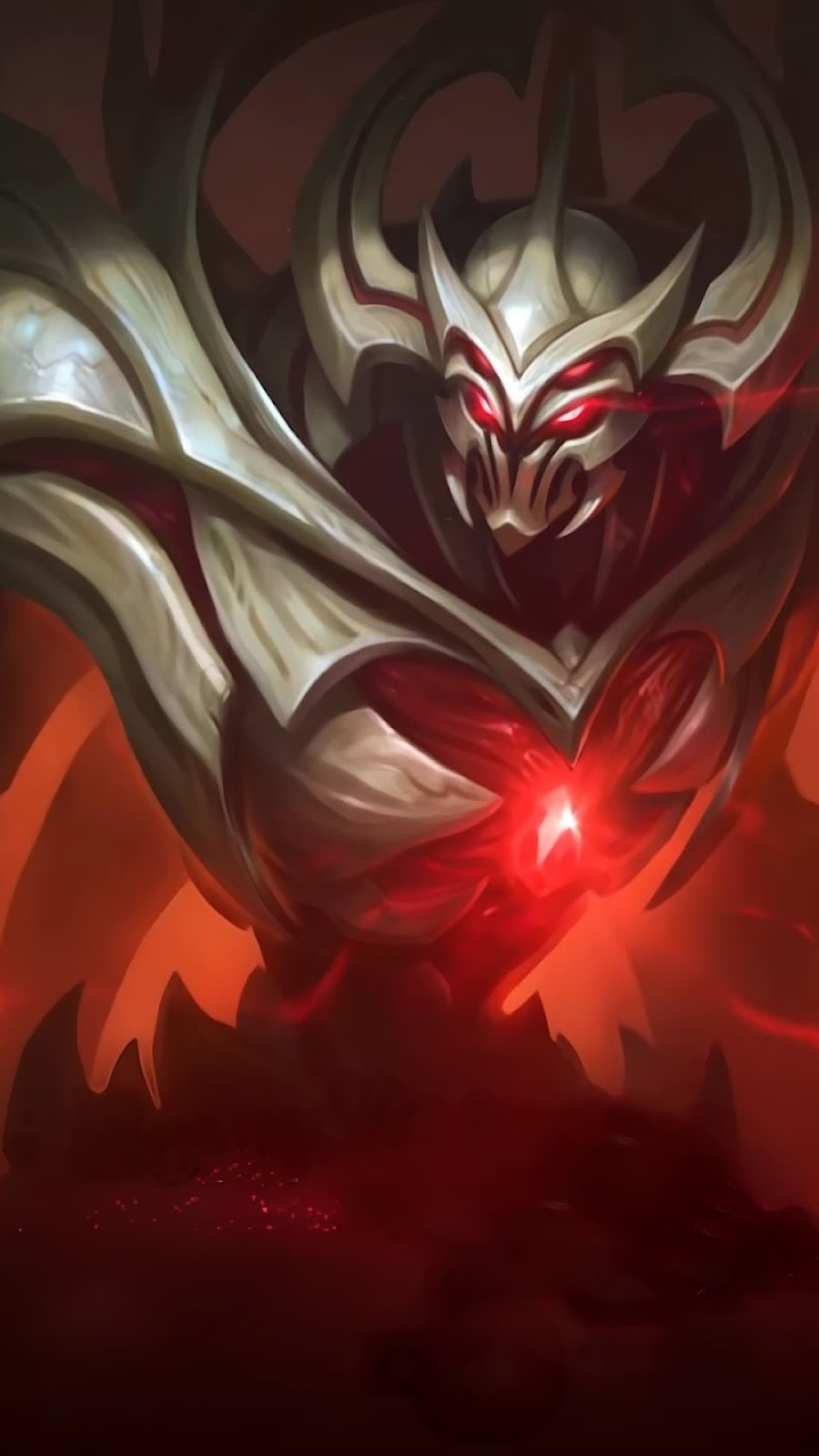 Wallpaper Zhask Bone Flamen Skin Mobile Legends HD for Android and iOS