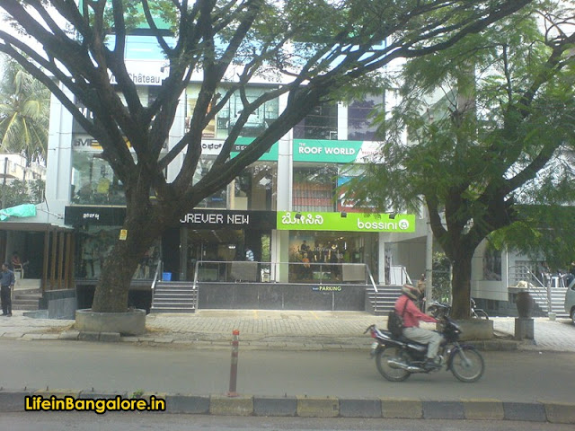 Bossini Indiranagar 100ft road